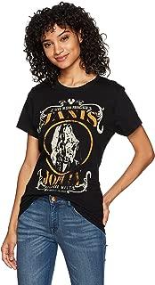 Women's Janis Joplin Live Black Tee