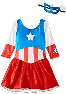 Rubie's Marvel Classic Child's American Dream Metallic Costume, Large