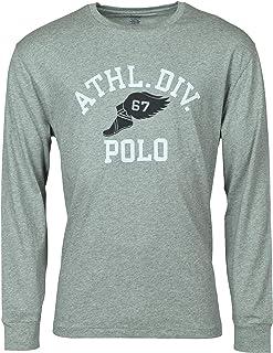 Polo Ralph Lauren Men's Classic Fit Long Sleeve Graphic Logo T-Shirt