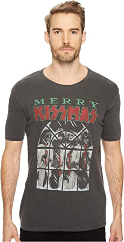 Lucky Brand - Merry Kissmas Graphic Tee