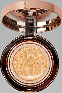 Compact Foundation with Refill, Flawless Cover, Moisturizing, Long Lasting Makeup (#13)