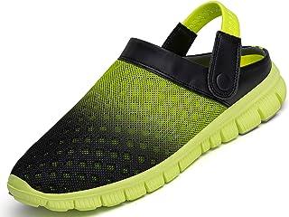 SAGUARO Unisex Adults' Clogs Breathable Mesh Summer Outdoor Garden Beach Sandals