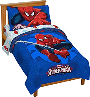 spiderman sheets toddler bed