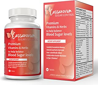 Cassanovum Sugar - for women with PCOS who are trying to conceive, Premium Vitamin & Herbs