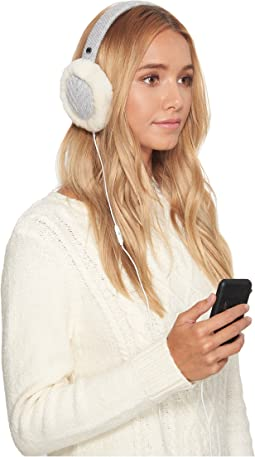 Textured Wired Knit Earmuff