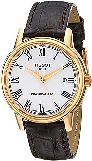 tissot carson automatic gold
