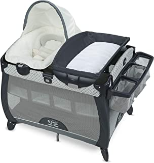 Graco Pack 'n Play Quick Connect Portable Napper Deluxe with Bassinet, McKinley