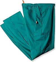 بنطلون سكرابي للجنسين برتقالي اللون مقاس كبير وطويل مع رباط للخصر و4 جيوب