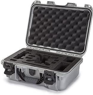 Nanuk 915-Spark Hard Case with Foam Insert for DJI Spark Flymore Camera, Silver (915-SPARK5)