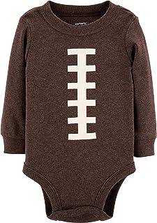 Carter's Baby Boy's Thanksgiving Football Long Sleeve Bodysuit