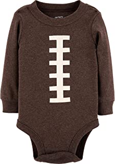 Carter's Baby Boy's Thanksgiving Football Long Sleeve Bodysuit