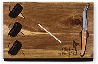 Disney/Pixar Ratatouille Delio Cutting Board and Cheese Tools Serving Set, by Picnic Time