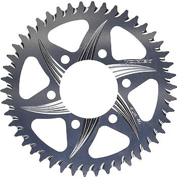 Vortex Silver 46-Tooth 520-Pitch Rear Sprocket 435-46