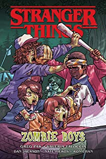 Stranger Things: Zombie Boys (Graphic Novel) (English Editio