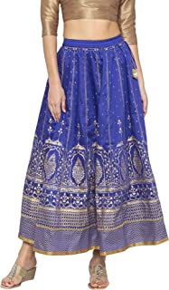 Globus Blue Printed Skirts