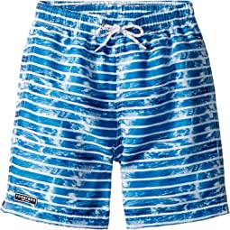 Toobydoo - The Wave - Multi Blue Swim Shorts (Infant/Toddler/Little Kids/Big Kids)