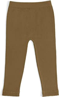 EMEM Unisex Baby Seamless Cotton Leggings in Solid, Bows, Ribbons Buttons