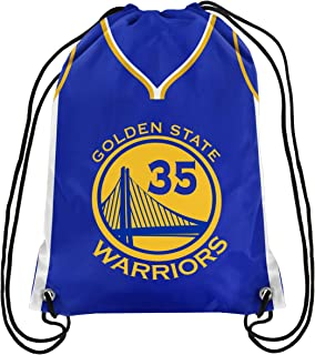 f18e988b7a76 Forever Collectibles Golden State Warriors Official Drawstring Backpack Gym  Bag - Kevin Durant  35