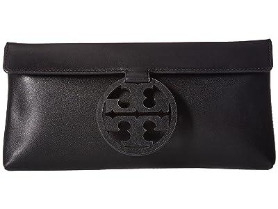 Tory Burch Miller Clutch (Black) Clutch Handbags