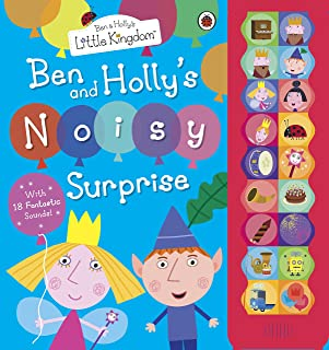 Ben and Hollys Little Kingdom Noisy Surprise an Oversize Sound Book for Little Hands