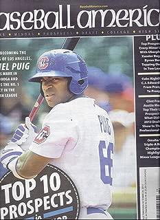 Baseball America (October 15-29, 2013 - Yasiel Puig Cover)