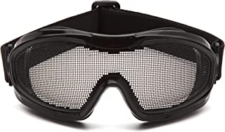 Pyramex Safety G9WMG Low Profile Wire Mesh Safety Goggles
