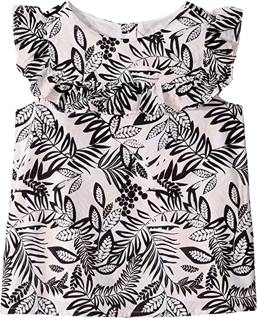 Pink Palm Print