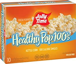 product image for JOLLY TIME Healthy Pop Kettle Corn Mini Bags   100 Calorie Sweet & Salty Microwave Popcorn Single Serving Bags for Portion Control (10-Count Box, Pack of 3)