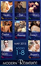 Modern Romance May 2015 Books 1-8 (Mills & Boon e-Book Collections) (English Edition)