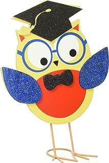 amscan Grad Owl Centerpiece   Party Favor   6 Ct.