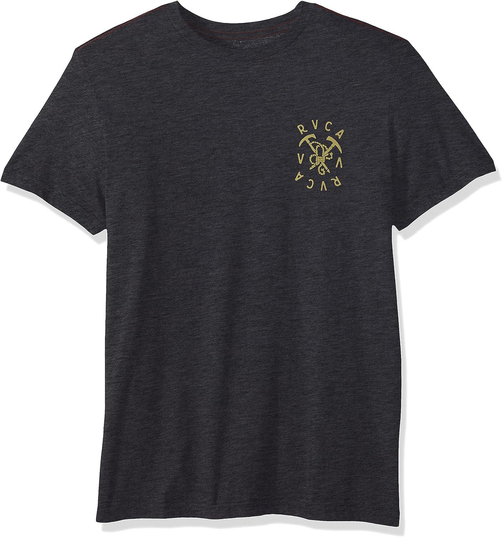 fda8cb563b4 RVCA RVCA RVCA Mens Climbing Pick Short Sleeve T-Shirt T-Shirt aca576