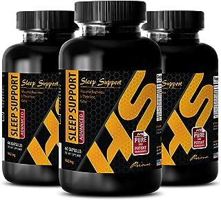 mucuna pruriens Capsules - Sleep Support - Advanced Blend 952Mg - melatonin Bulk - 3 Bottles (180 Capsules)