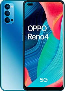 OPPO Reno4 5G Dual-SIM 128GB ROM + 8GB RAM Factory Unlocked Android Smartphone (Space Black) - International Version