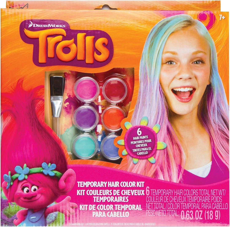 Trolls Temporary Hair color Kit
