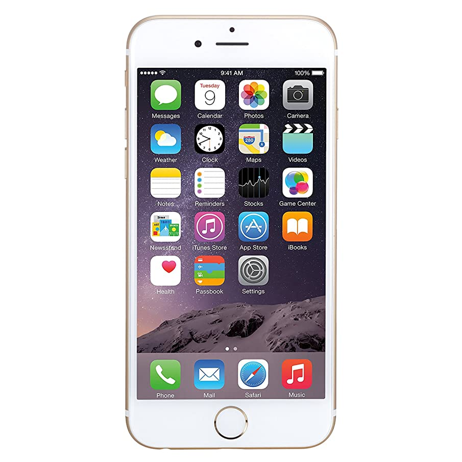 Apple iPhone 6 Plus, AT&T, 64GB - Gold (Renewed)