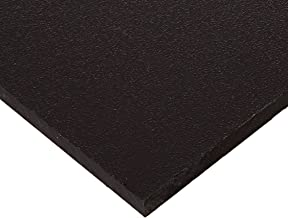 Seaboard High Density Polyethylene Sheet, Matte Finish, 1/2