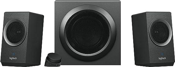 Logitech Z337 Bold Sound بلوتوث بی سیم 2.1 سیستم بلندگو برای رایانه ها، گوشی های هوشمند و قرص