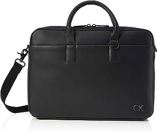 Calvin Klein Laptop Bag W, Sacoche pour Ordinateur Portable avec Pckt Homme, Noir, 28 inches, Extra-Large