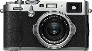 Fujifilm Digital Camera X100F - 24.3 MP Point & Shoot, Silver