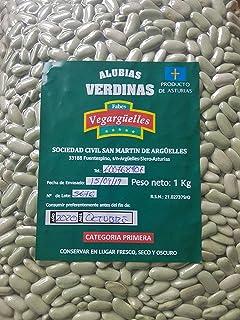 Alubia verdina Categoría Primera 1Kg. Origen Asturias. Envase al vacío.