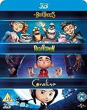 Laika Paranorman/ Coraline/ Boxtrolls 2015 Region Free