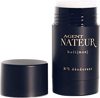 Agent Nateur HOLI (MAN) N5 NATURAL DEODORANT Aluminum Free for Men Organic Scented Large 1.7oz