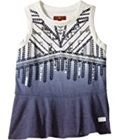 7 For All Mankind Kids - Short Sleeve Embellished Tee (Little Kids)