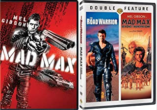 The Maddest Mel As Max: Mad Max + The Road Warrior/ Mad Max Beyond The Thunderdome 3 MOVIE BUNDLE Mel Gibson