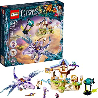 LEGO Elves Aira & the Song of the Wind Dragon 41193 Building Kit (451 Piece)