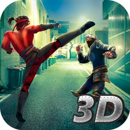 Ninja Kung Fu Fighting: Street Wars Fighter King | Urban Crime Martial Combat Warrior Training