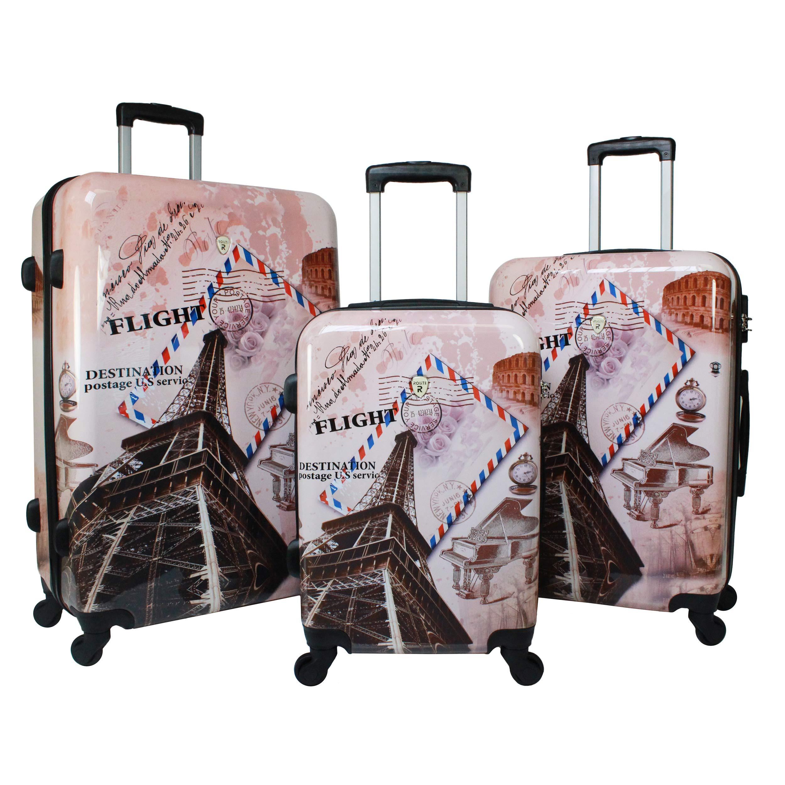 World Traveler Collection 3 Piece Hardside
