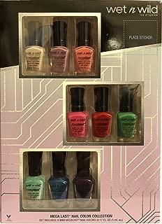 Wet N Wild Los Angeles Gift Set - Mega Last Nail Color Collection - Set Includes: 9 Nail Colors - Net Wt. 0.17 FL OZ (5 mL) Each - One Gift Set