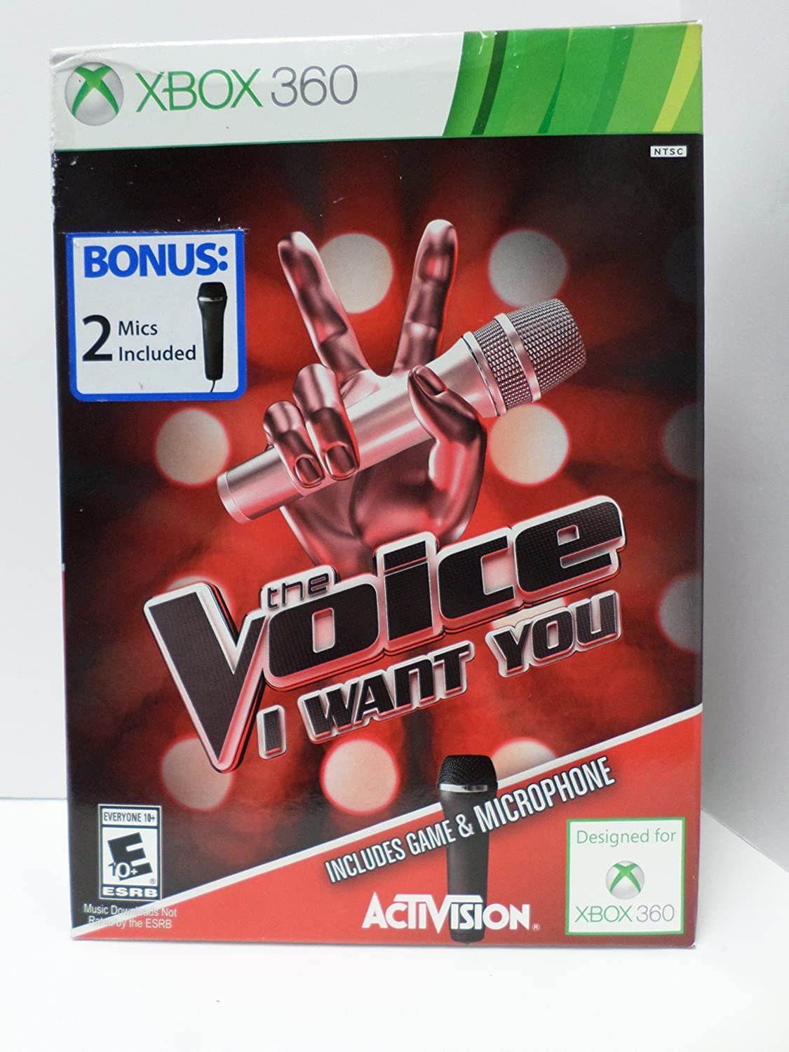 The Voice Bundle with 2 Denver Mall 360 Xbox Raleigh Mall Microphones -