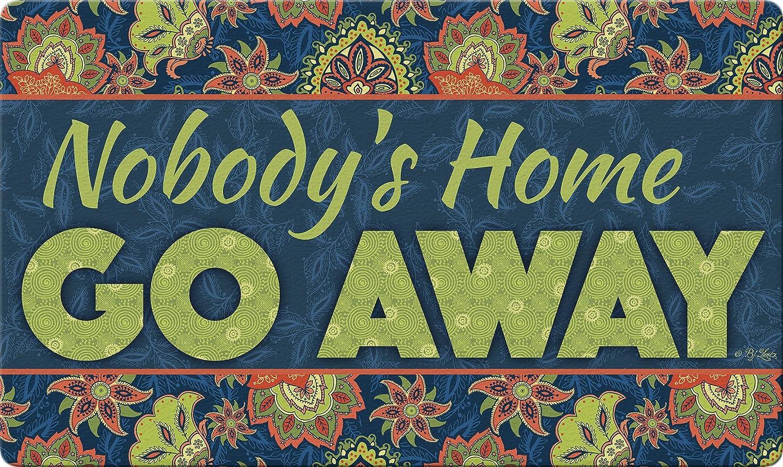 Toland Home Garden 800439 Go Away Doormat, Multicolor